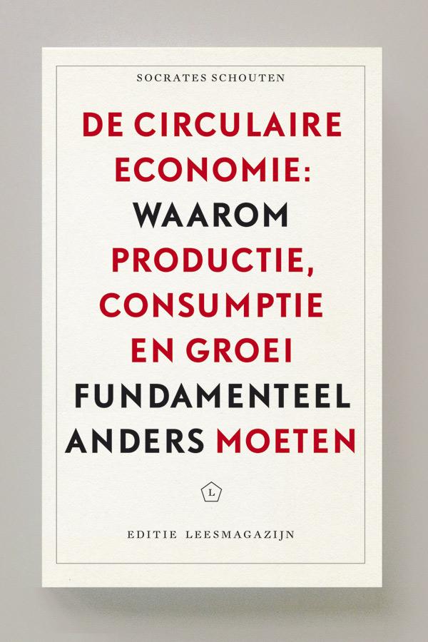 De circulaire economie - Cover